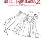 Hotel Transylvania Dracula Coloring Page