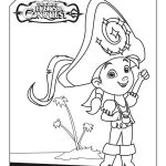 Disney Captain Jake and The Neverland Pirates Izzy Coloring Page