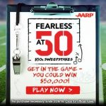 Fearless at 50 $50,000 Sweepstakes – EXPIRED