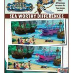 Disney Captain Jake and The Neverland Pirates Spot the Differences Activity Page