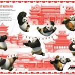 Kung Fu Panda Count with Po Activity Page