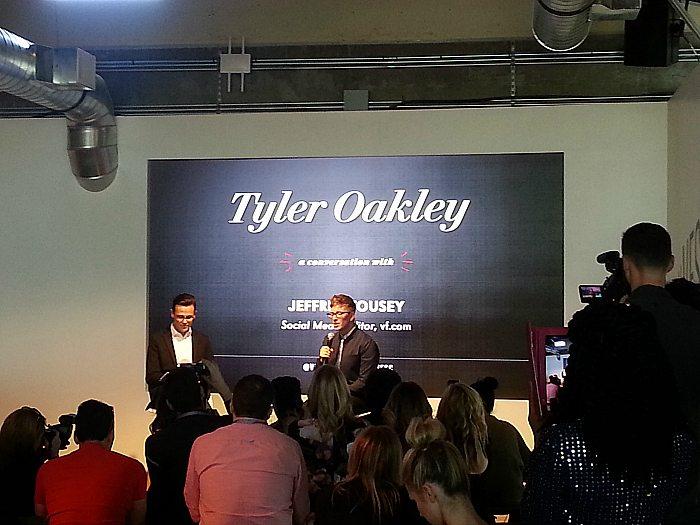 Tyler Oakley at Vanity Fair Social Club 2016