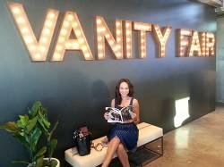 Natalie Wachen at Vanity Fair Social Club