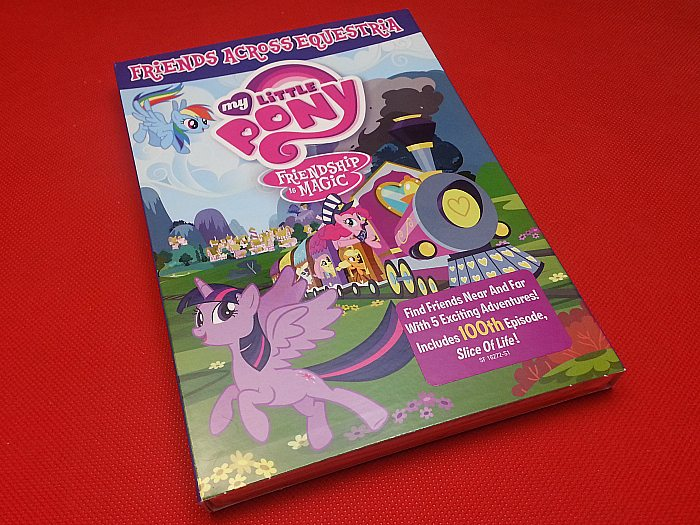My Little Pony Friends Across Equestria DVD