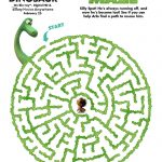 Disney The Good Dinosaur Free Printable Arlo's Maze