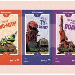 Free Dinotrux Printable Valentines