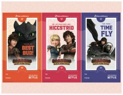 Free Dragons Race to The Edge Printable Valentines