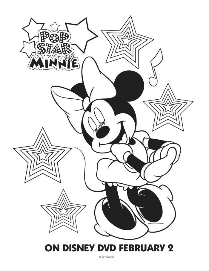 disney stars coloring pages - photo#2