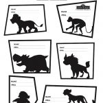 Disney The Lion Guard Printable Team Badge Activity Page