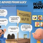Peanuts Life Advice from Lucy Activity Page