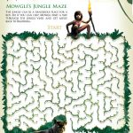 Disney Jungle Book Free Mowgli Maze Activity Page
