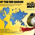 Peanuts Stop The Red Baron Activity Page