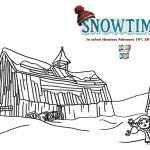 Free Snowtime Printable Coloring Page