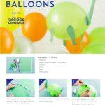 The Good Dinosaur Dino Balloons Craft