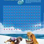 Ice Age Printable Dot Game for Easter