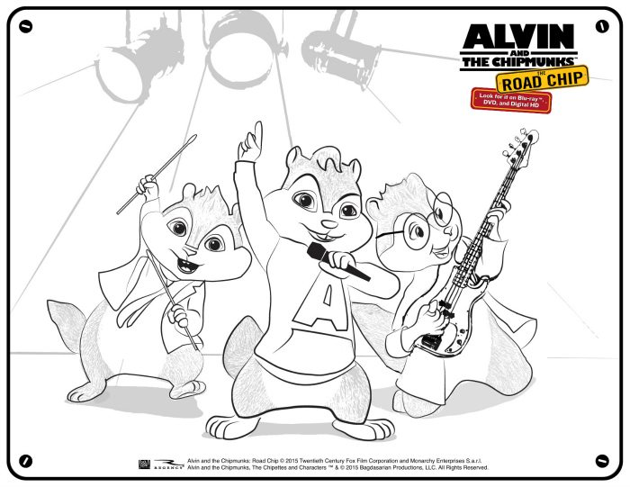 Free alvin and the chipmunks coloring page mama likes this for Alvin and the chipmunks coloring page