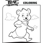 Disney Bear Fairytale Friends Coloring Page