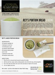 Star Wars Rey's Portion Bread Recipe - Microwaveable Mug Cake
