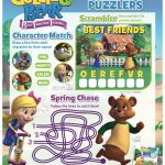Disney Goldie & Bear Fairytale Friends Activity Page