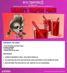 Hotel Transylvania Vampire Red Punch Recipe