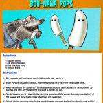 Hotel Transylvania Halloween Boo-Nana Banana Pops Recipe