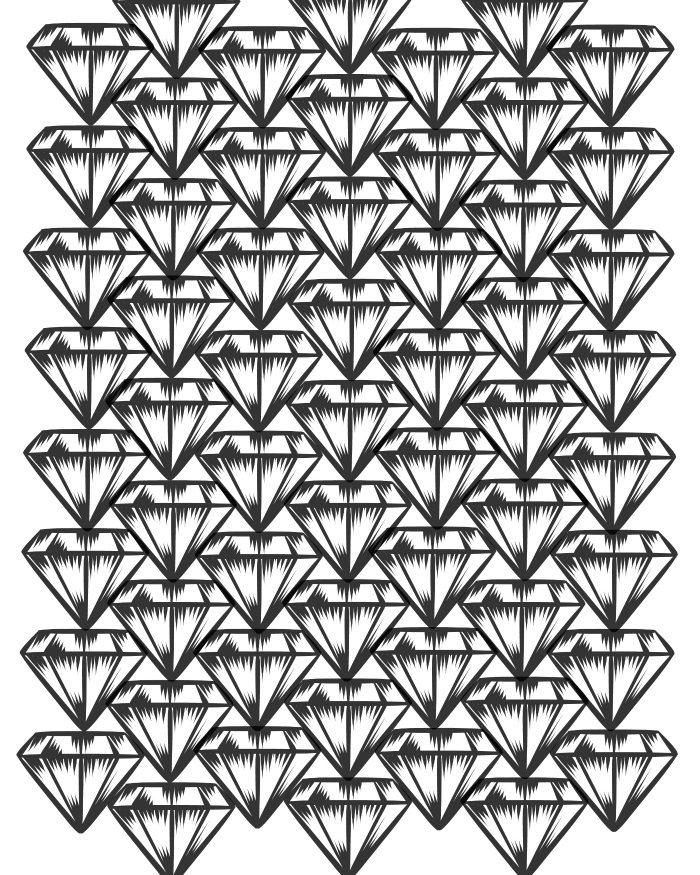 Free Printable Diamonds Adult Coloring Page Mama Likes This