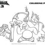 Printable Kung Fu Panda Coloring Page