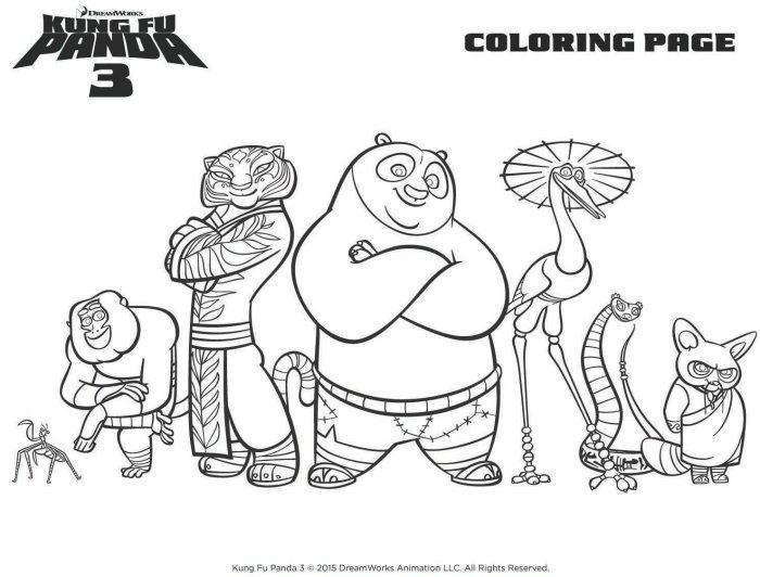 Kung Fu Panda Tigress Coloring Pages - Coloring Home | 532x700