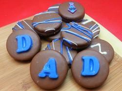 Belgian Chocolate Dipped Oreo Cookies