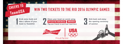 Budweiser Drizly Olympics Sweepstakes