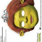 Free Shrek Printable Fiona Mask Craft