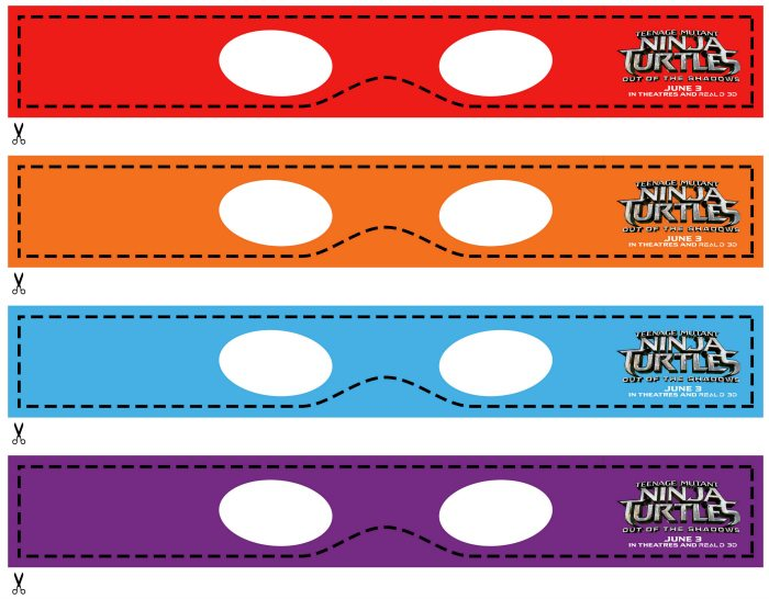It's just a graphic of Priceless Ninja Turtle Masks Printable