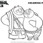 Free Kung Fu Panda Coloring Page