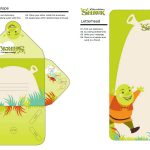 Free Printable Shrek Stationery Set