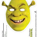 Free Printable Shrek Mask Craft