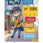 Disney Zootopia Parking Duty Activity Page