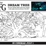 Disney The BFG Dream Tree Coloring Page