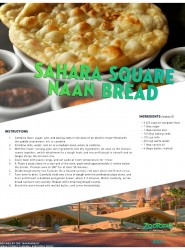 Disney Zootopia Sahara Square Naan Bread Recipe