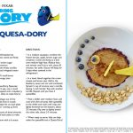 Finding Dory Quesa-Dory Recipe