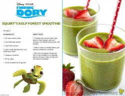 Finding Dory Smoothie Recipe
