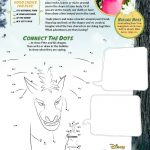 Disney Pete's Dragon Connect The Dots Activity Page