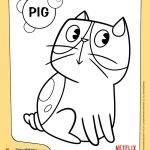 DreamWorks Home Pig Coloring Page