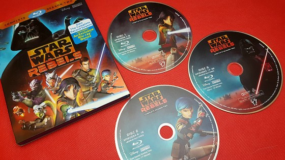 Star Wars Rebels: Complete Season Two Blu-ray Set