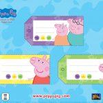 Free Peppa Pig Printable Gift Tags