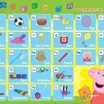 Free Peppa Pig Alphabet Chart