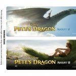 Pete's Dragon Printable Bookmarks
