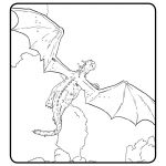 Pete's Dragon Printable Coloring Page