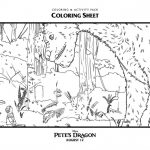 Disney Pete's Dragon Coloring Page