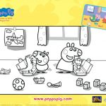 Free Peppa Pig Coloring Page