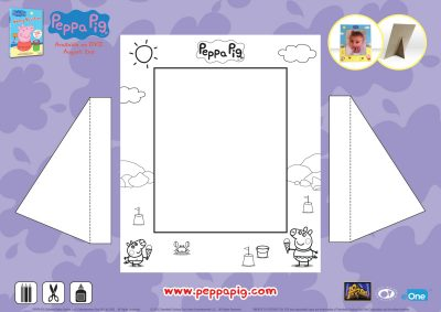 Peppa Pig Picture Frame Craft